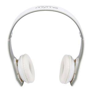 Casti audio pliabile MyMe M7 White - sport, DJ, headphones