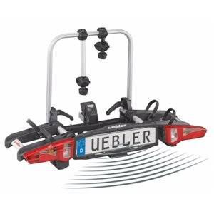 Suport Biciclete UEBLER i21 pe carlig, 2 biciclete, senzori parcare, rabatabil 90 grade