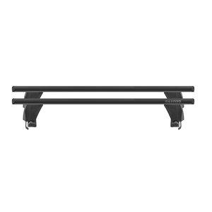 Bare transversale Menabo Delta Black pentru Seat Toledo, 5 usi, model 2011+