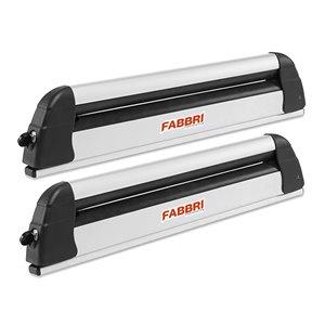 Suport ski/snowboard Fabbri Aluski & Board 4 pe bare transversale, 4 perechi ski / 2 snowboard